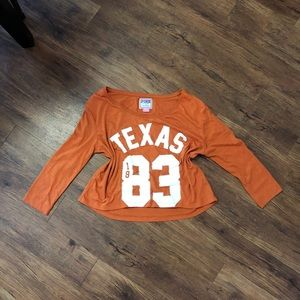 Women's Texas Pink Size Medium Long Sleeve